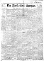 Northeast Georgian (Athens, Ga.), Oct. 3, 1873, North-east Georgian
