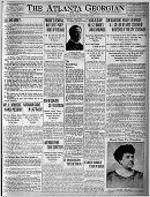Atlanta Georgian and news, Jan. 8, 1910