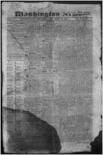 The Washington news, 1831 April 16