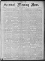Savannah morning news, 1885 September 4
