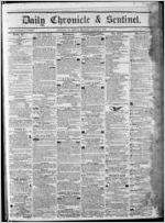 Daily chronicle & sentinel, 1850 August 10