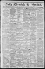 Daily chronicle & sentinel, 1854 February 11