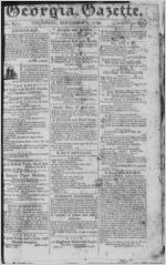 The Georgia gazette, 1799 November 7