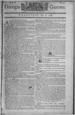 The Georgia gazette, 1768 July 6
