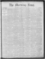 The morning news, 1889 February 2