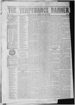 The temperance banner, 1853 February 19