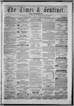 The Times & sentinel tri-weekly, 1857 August 22