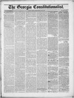 The Georgia constitutionalist, 1846 May 22