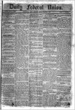 Daily federal union, Nov. 27, 1861