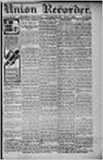 Union recorder (Milledgeville), Mar. 7, 1899