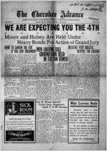 The Cherokee advance, Jun. 27, 1919