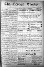 Georgia cracker, Jun. 23, 1900