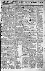 Daily Savannah republican, Sep. 20, 1834