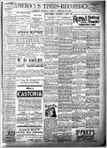 Americus times-recorder (Americus, Ga. : Daily), Feb. 25, 1894