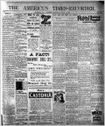 Americus times-recorder (Americus, Ga. : Daily), Apr. 4, 1895