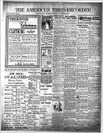 Americus times-recorder (Americus, Ga. : Daily), Nov. 12, 1899