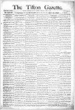 Tifton gazette (Tifton, Ga. : Weekly), Jun. 9, 1893