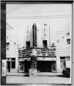 [Photograph of the Ritz Theatre, Gainesville, Hall County, Georgia, 1933]
