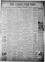Carroll free press (Carrollton, Ga.), Nov. 27, 1891