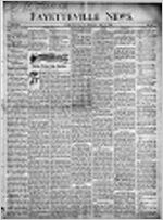 The Fayetteville news, May 18, 1900