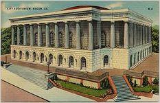City Auditorium, Macon, Ga
