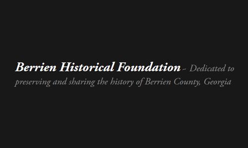 Logo for Berrien Historical Foundation