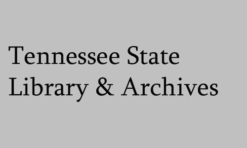 Logo for Tennessee State Library and Archives
