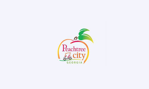 Logo for Peachtree City Library